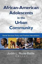 African-American Adolescents in the Urban Community