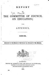 Report of the Committee of Council on Education