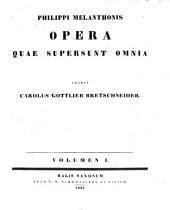 Opera quae supersunt omnia: Volume 1
