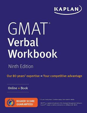 GMAT Verbal Workbook