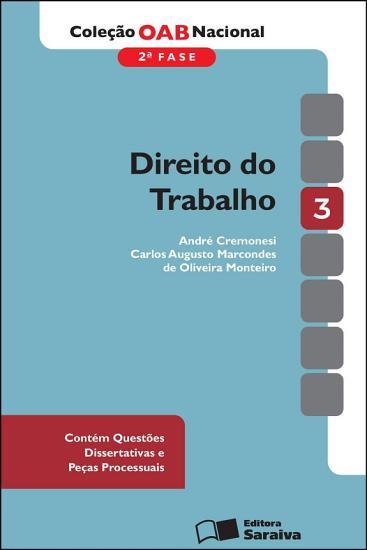 V 3   DIREITO DO TRABALHO PDF