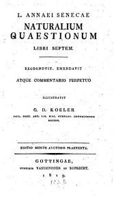 Naturalium Quaestionum libri septem