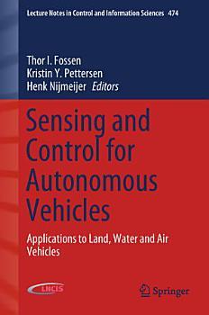 Sensing and Control for Autonomous Vehicles PDF