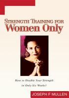 Strength Training for Women Only PDF