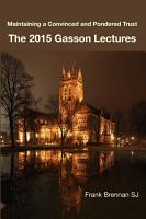 The 2015 Gasson Lecturers PDF