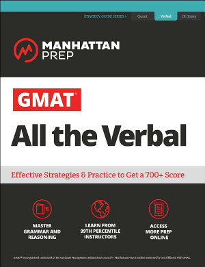 GMAT All the Verbal PDF