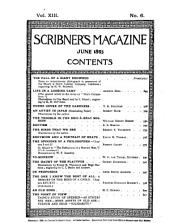 Scribner's Magazine: Volume 13
