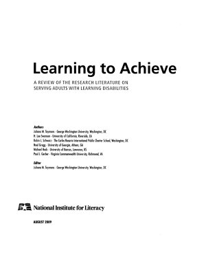 Learning to Achieve PDF
