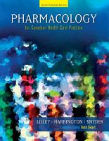 Pharmacology for Canadian Health Care Practice PDF