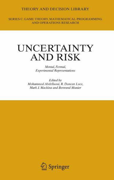 Download Uncertainty and Risk Book