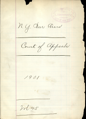 Court of Appeals 1901 Vol. 45