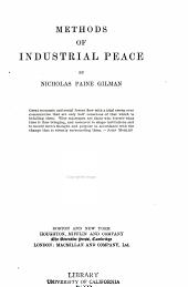 Methods of Industrial Peace