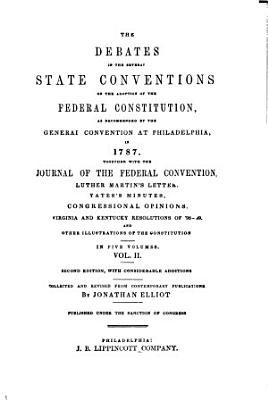 The Debates in the Several State Conventions