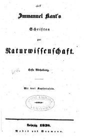 Werke: Schriften zur Naturwissenschaft