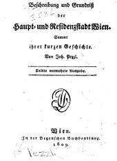 Beschreibung und Grundriss der Haupt- und Residenzstadt Wien: sammt ihrer kurzen Geschichte