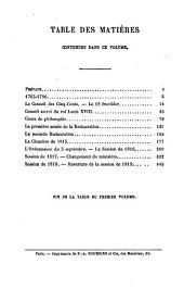 La vie politique de M. Royer-Collard: ses discours et ses écrits, Volume1