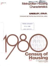 1980 census of housing: Metropolitan housing characteristics. Greeley, Colo