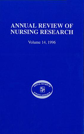 Annual Review of Nursing Research PDF