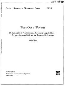 Ways Out of Poverty PDF