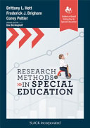Research Methods in Special Education