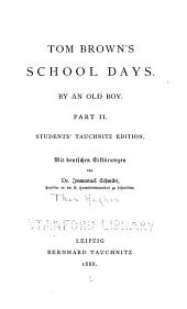 Tom Brown's School-days: Volume 2