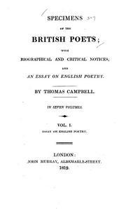 Essay on English poetry
