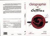 Géographie et cultures n°11