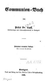 Communion-Buch