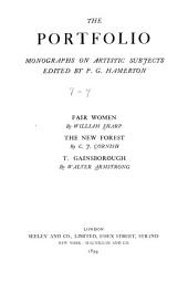 The Portfolio: Monographs on Artistic Subjects..., Issues 7-9
