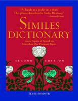 Similes Dictionary PDF