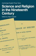 Download Science and Religion in the 19th Century Book