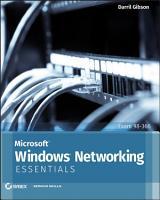 Microsoft Windows Networking Essentials PDF