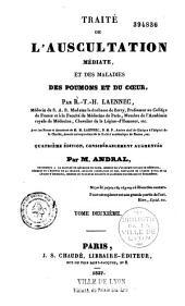 Traité de l'auscultation médiate et des maladies des poumons et du coeur
