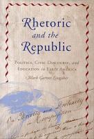 Rhetoric and the Republic PDF