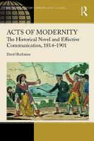Acts of Modernity PDF