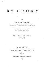 By Proxy: Volume 2