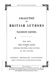 The Coming Race by Edward Bulwer, Lord Lytton