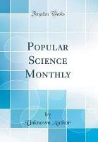 Popular Science Monthly  Classic Reprint  PDF