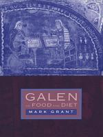 Galen on Food and Diet PDF
