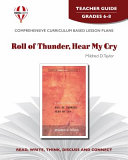 Roll of Thunder  Hear My Cry  by Mildred D  Taylor Book