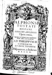 Commentaria in Genesim: Mendis nunc sanè quam plurimis diligenter expurgata