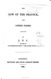 The Vow of the Peacock: And Other Poems