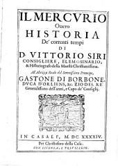Il Mercvrio Ouero Historia de Correnti Tempi