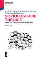 Soziologische Theorie PDF