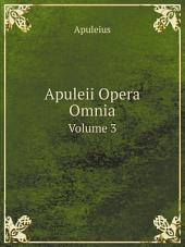 Apuleii Opera Omnia: Volume 2