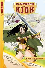 Pantheon High manga volume 2