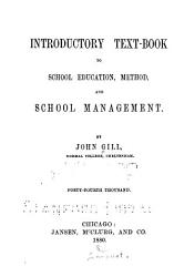 Introductory Text book to School Education  Method  and School Management PDF