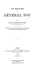 Vie militaire du général Foy