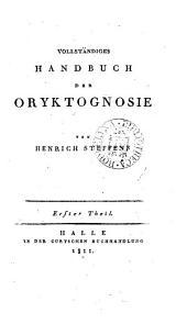 Vollständiges Handbuch der Oryktogenose