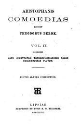 Aristophanis Comoedias: Τόμος 2